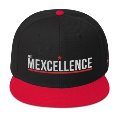 The Mexcellence Text Logo Snapback Hat
