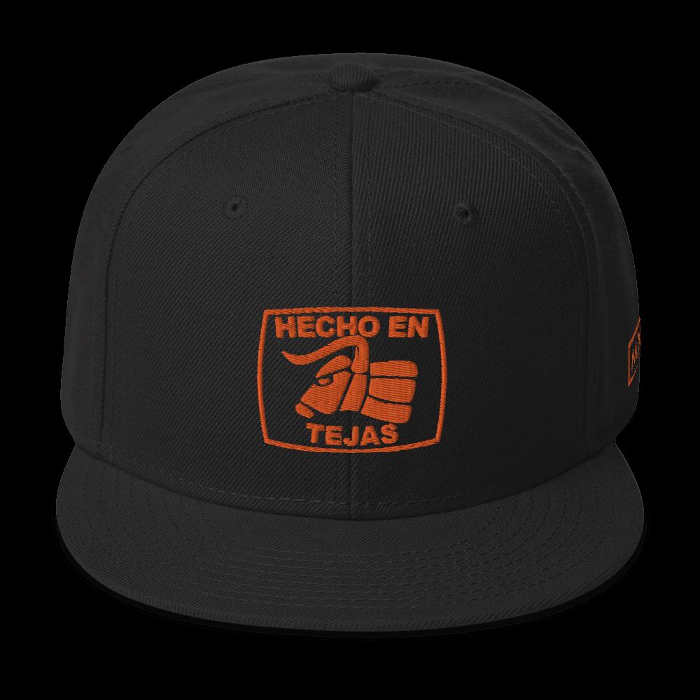 Hecho En Tejas Snapback Hat
