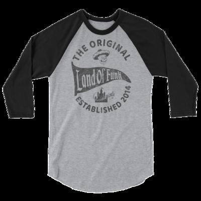 Land Of Funk Unisex 3/4 Sleeve Raglan Shirt
