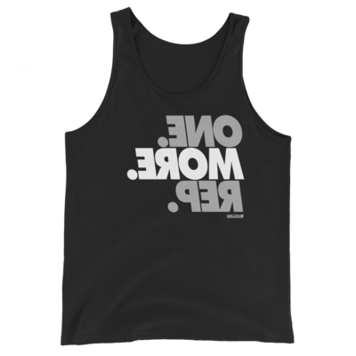 One More Rep Unisex Tank Top