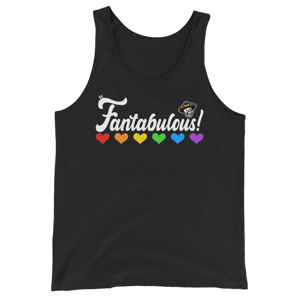 Be Fantabulous Unisex Tank Top