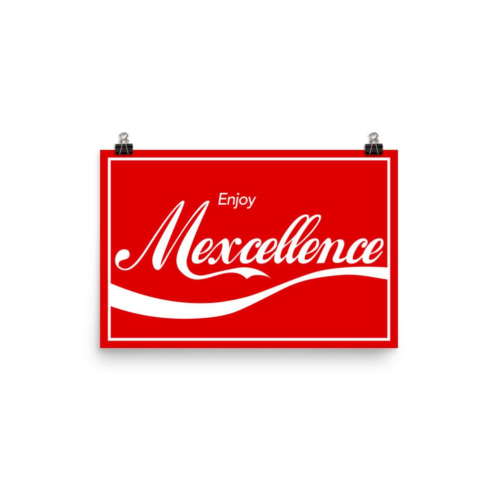 Enjoy Mexcellence 12x18 Poster