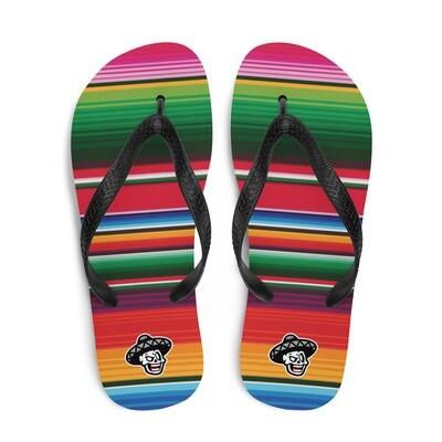Serape Flip-Flops