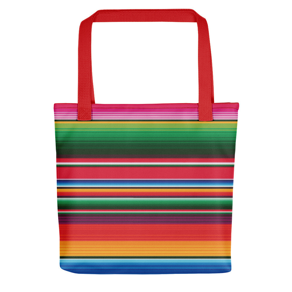 Serape Print Tote Bag