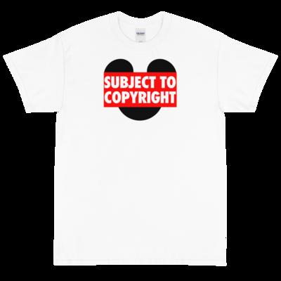 Subject To Copyright Men's Short Sleeve