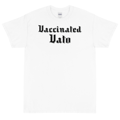 Vaccinated Vato Men's Short Sleeve