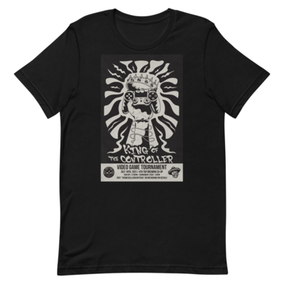 King Of The Controller Short-Sleeve Unisex T-Shirt