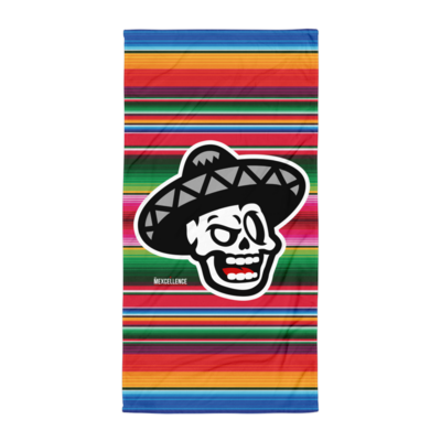 The Mexcellence Logo Serape Towel