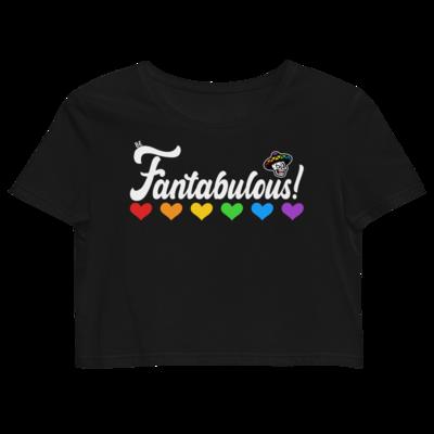 Be Fantabulous Organic Crop Top
