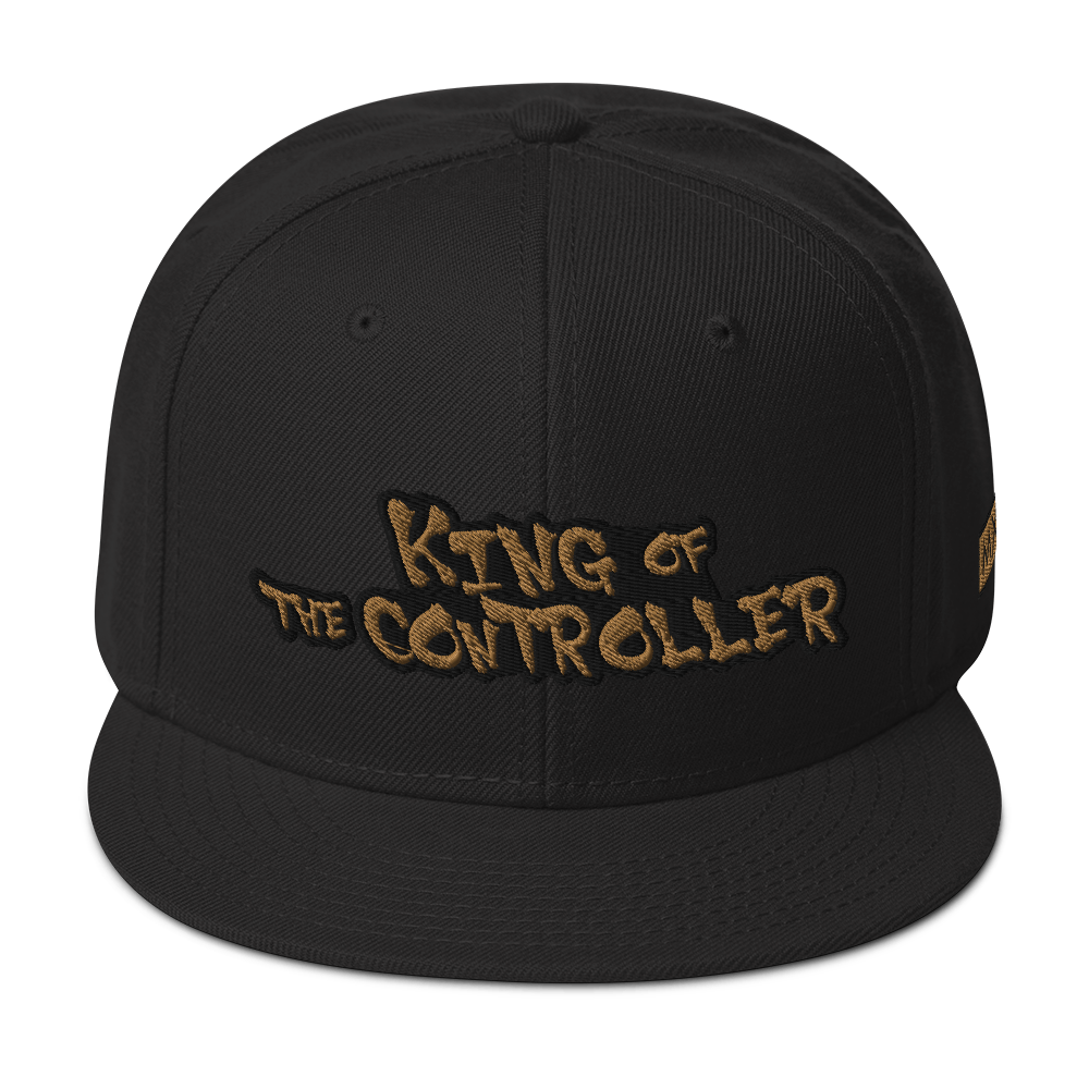 King Of The Controller Snapback Hat