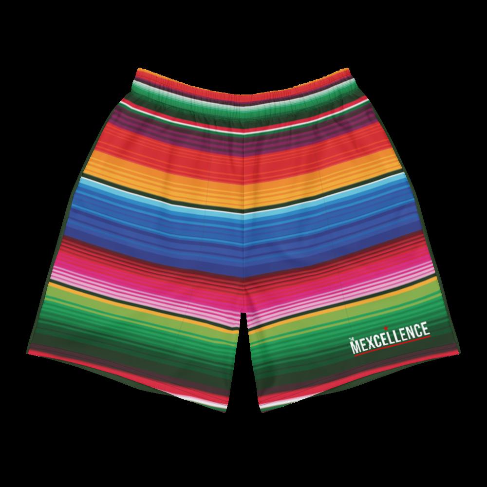 Serape Men's Athletic Long Shorts