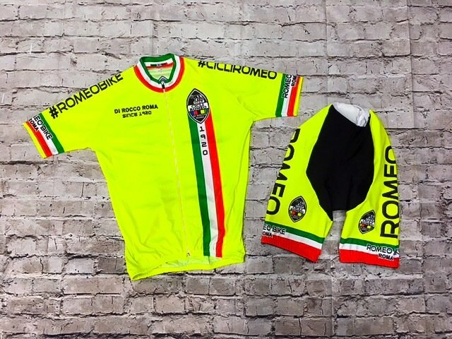 "Cycling Set Romeo ""Acid Sun"""