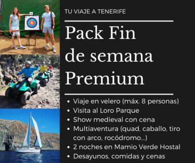Pack fin de semana premium