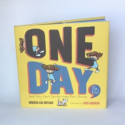 Signed copy of ONE DAY THE END - free US shipping