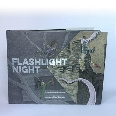 Signed copy of FLASHLIGHT NIGHT - free US shipping