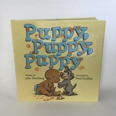 Signed copy of PUPPY, PUPPY, PUPPY - free US shipping
