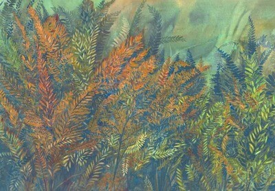 Royal Ferns of Autumn