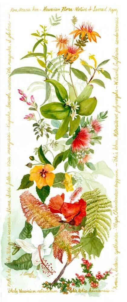 Native and Sacred Flora of Hawaii