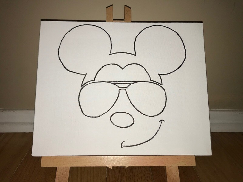 Mickey Mouse Canvas Pack