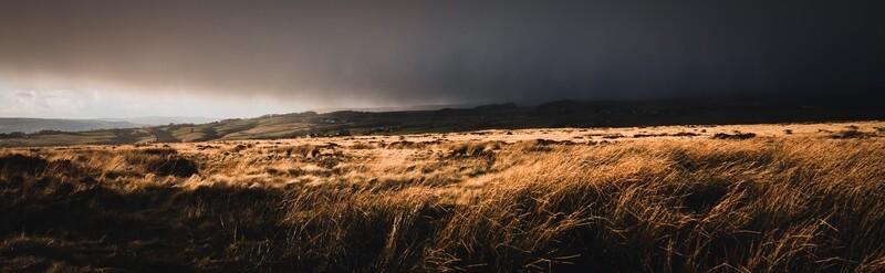 Baildon Moor at Dusk