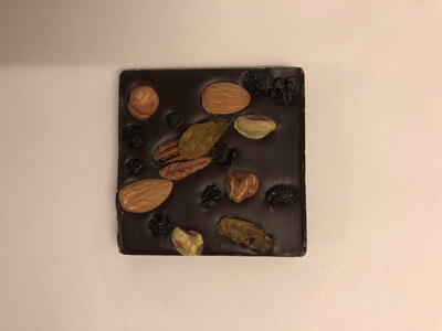 Belu Choco Bar Nuts and Fruits Dark