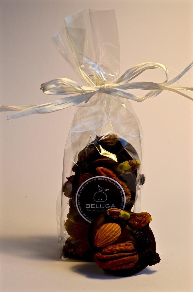 Mendiants in a bag - Nuts & Fruits Dark