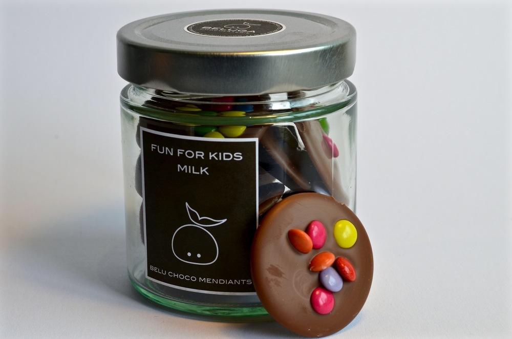 Glass Mendiants - Fun for Kids Milk