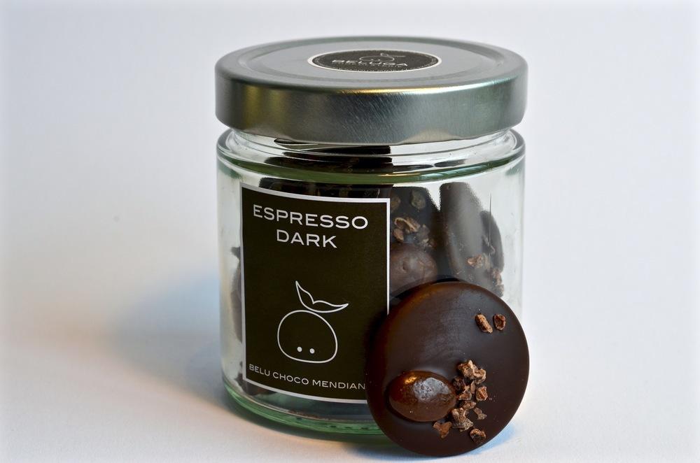 Glass Mendiants - Espresso Dark