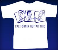 Blockhead T-Shirt - White w/Blue Type - Small size only
