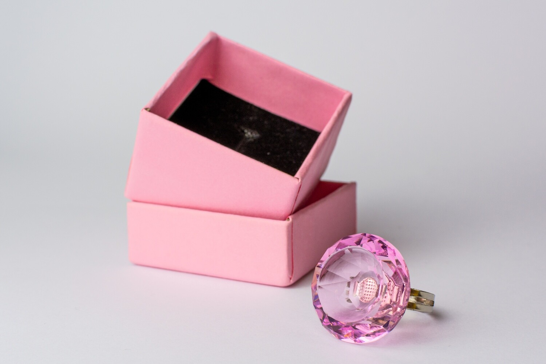 Kleber Ring Crystal Pink