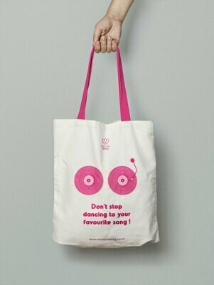 AVAILABLE IN OCTOBER 2020! Breast Cancer Awareness Cotton Bag