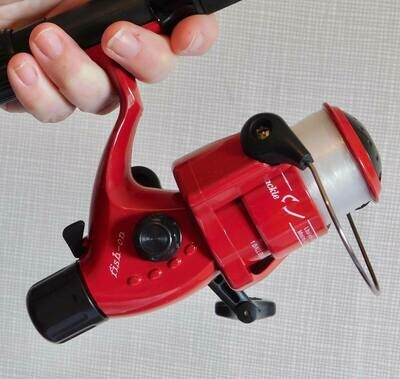 6ft Pier Rod/Reel Combo (Red) £19.99 inc Post