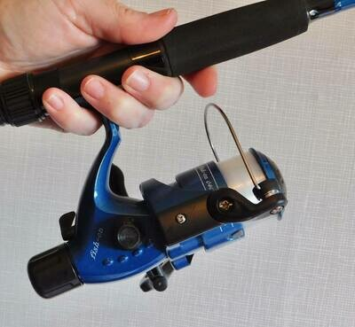 6ft Pier Rod/Reel Combo (Blue) £19.99 inc Post