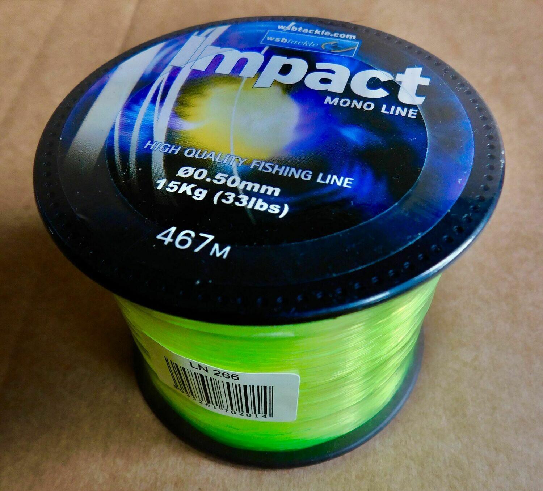 33lb Impact Mono Line £6.99 inc Post