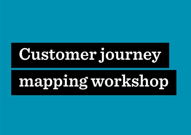 Customer journey mapping workshop