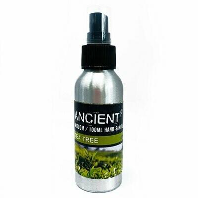 100ml Aromatherapy Hand Sanitiser Spray - Tea Tree