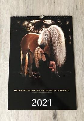 A3 kalender Romantische paardenfotografie