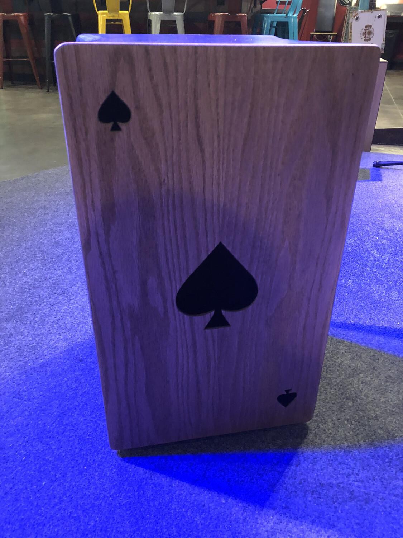 Ace of Spades Cajon By JJ