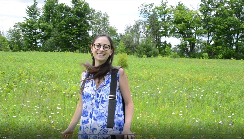 Nancy in the Field
