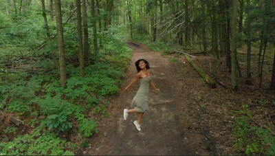 Dance in Forest Green - 2