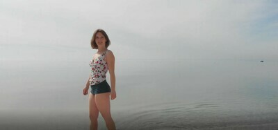 Woman On Beach - 5