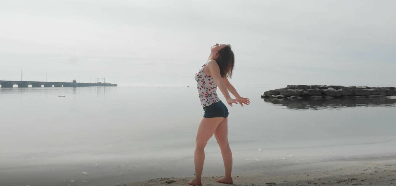 Woman On Beach - 3