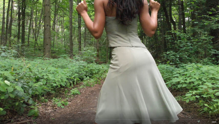 Dance in the Forest Green -1