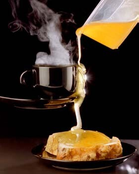 Honey with Toast