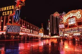 Downtown Vegas In the Rain 210