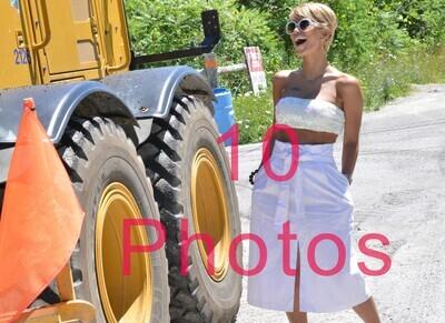 White Dress  B -10 Photos 264 - 273