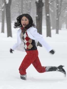 Running in Snow 1  152