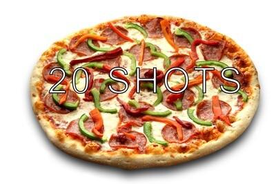 Pizza & Fast Food 20 Shots