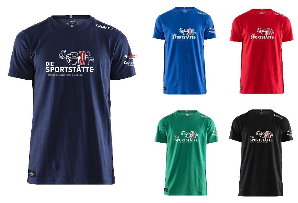 """""""Die Sportstätte"""" T-Shirt"""