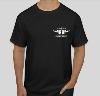 Black Flight Crew T-shirt